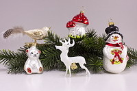 Christbaumkugeln Figuren
